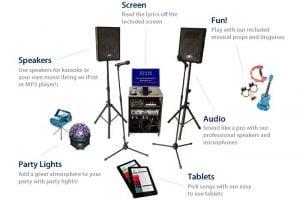 karaoke rental system
